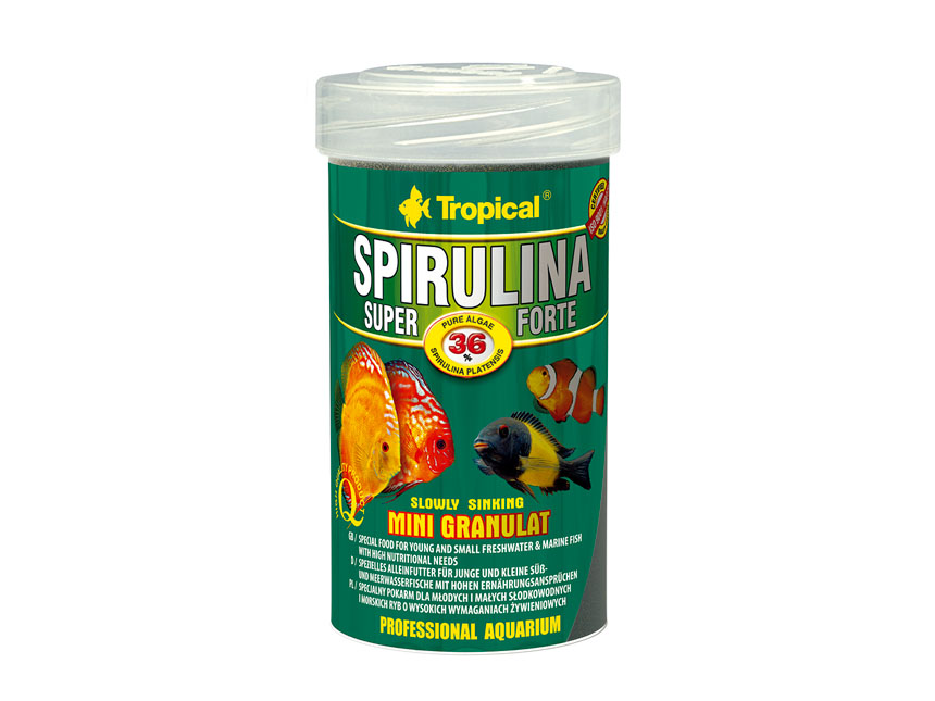Tropical Spirulina 36%  Mini Gran 100ml