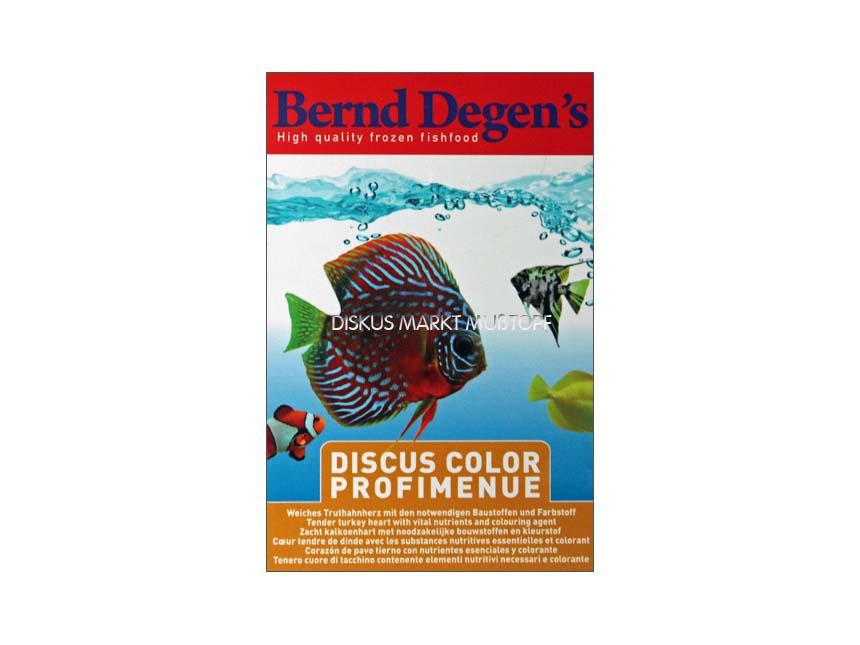 Degen's Discus Color Profi Menue 2x100g