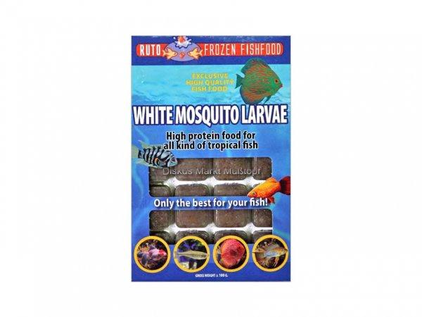 Weiße Mückenlarven 100g Blister