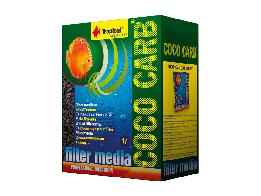 <b>Tropical Coco Carb 1 l</b><br>Aktivkohle aus Kokosnussschalen