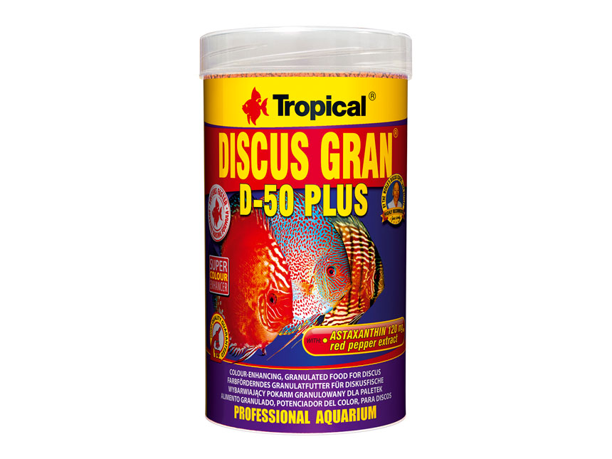 Tropical Discus Gran D-50 Plus 250ml