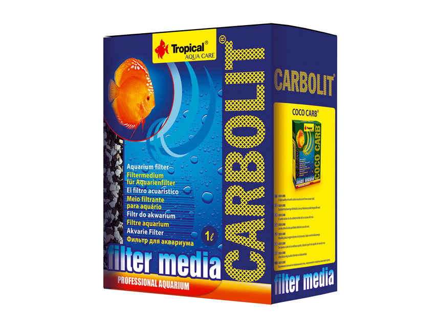 <b>Tropical Carbolit 1000 ml</b><br>Aktivkohle + Zeolith