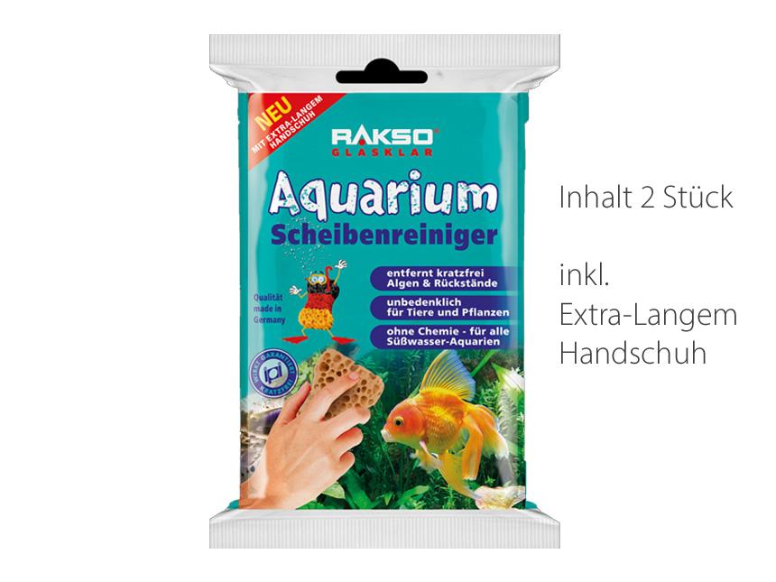 RAKSO Glasklar Aquarium Scheibenreiniger