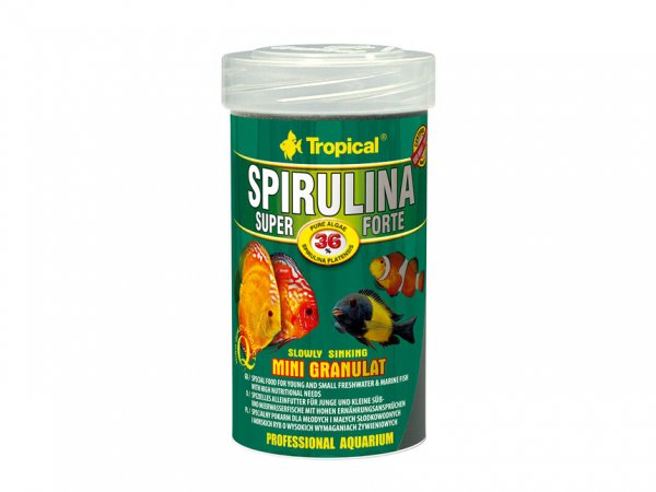 Spirulina Forte 36% Mini Gran 100ml
