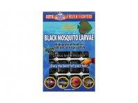 Schwarze Mückenlarven 100g Blister